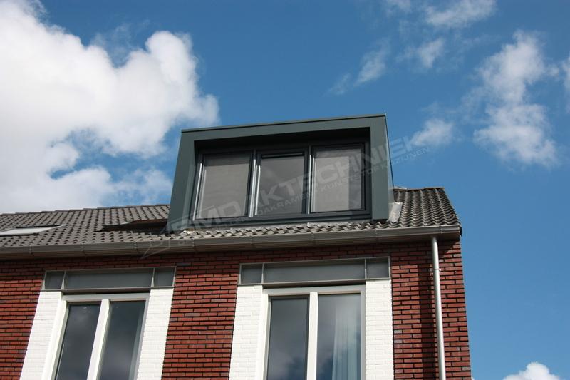 Kunststof dakkapel Almere